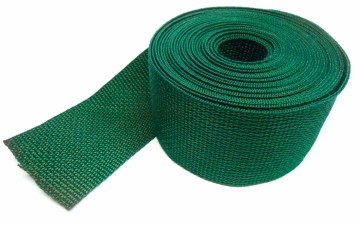 Spanband groen op rol 5 meter 25mm breed